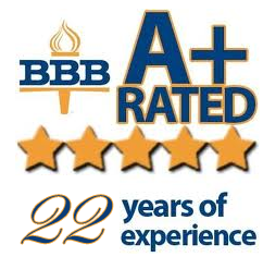Wedding DJ A+ rating on BBB